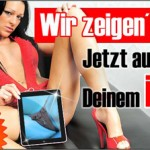 Livesex Chat mit Tablet